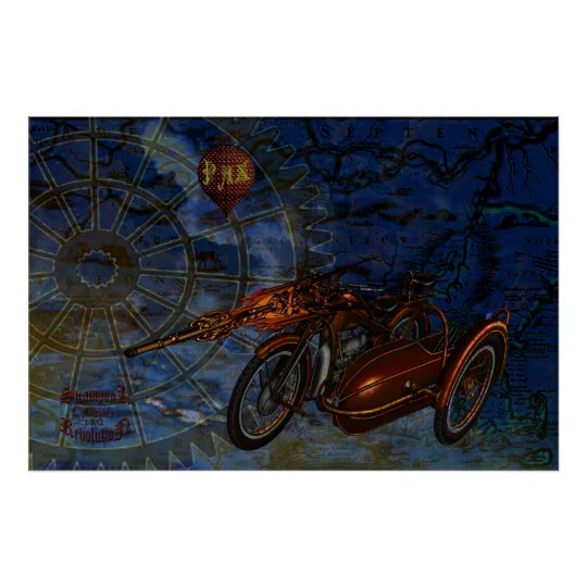 Steampunk Revolution Poster