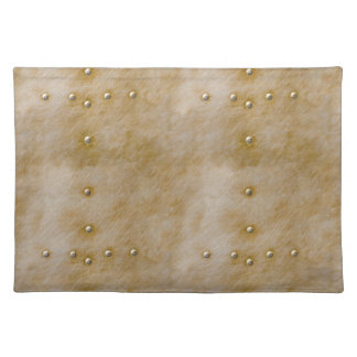 Steampunk Rivets Placemat