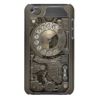 Steampunk Rotary Metal Dial Phone. Barely There iPod Cover