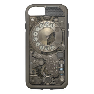 Steampunk Rotary Metal Dial Phone. Case. Case-Mate iPhone Case