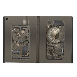 Steampunk Rotary Metal Dial Phone. iPad Air Cover