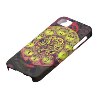 steampunk rotary style iphone iPhone 5 covers