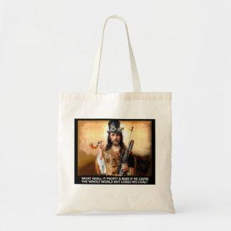 Steampunk Savior Budget Tote Bag