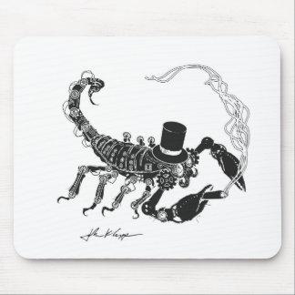 Steampunk Scorpio Mousepad