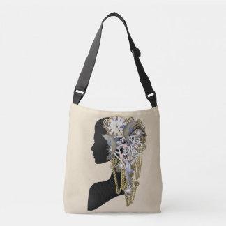 Steampunk sculpture -Art Trendy Crossbody Bag