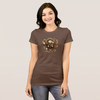 Steampunk Skull and Gears T-Shirt