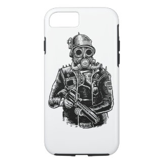 Steampunk Soldier Tough Phone Case
