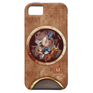 Steampunk Space Chimp iPhone 5 iPhone 5 Cover