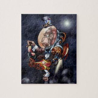 Steampunk Space Chimp Puzzle