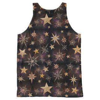 Steampunk Stars All-Over-Print Tank Top