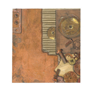 Steampunk Style Design Notepads