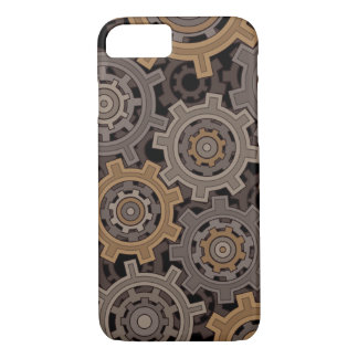 Steampunk Style Industrial Gears Case-Mate iPhone Case