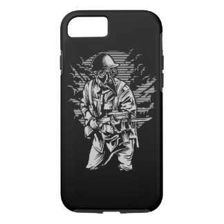 Steampunk Style Soldier Tough Phone Case
