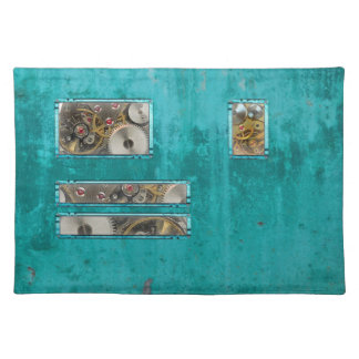 Steampunk Teal Placemat