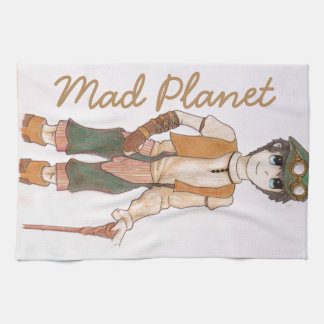 Steampunk Teen Towels