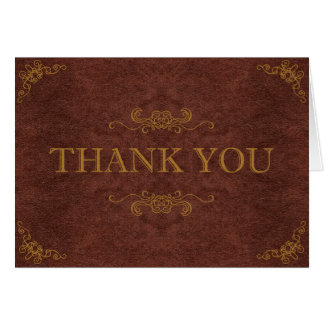 Steampunk Thank You Card