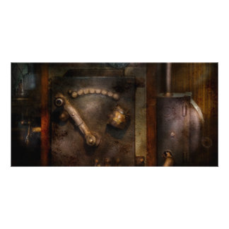 Steampunk - The Control Room Photo Cards