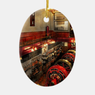 Steampunk - The Engine Room 1974 Ceramic Ornament