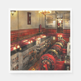 Steampunk - The Engine Room 1974 Disposable Napkins