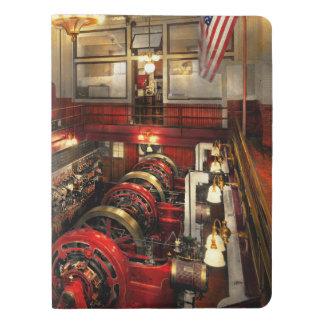 Steampunk - The Engine Room 1974 Extra Large Moleskine Notebook
