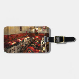 Steampunk - The Engine Room 1974 Luggage Tag
