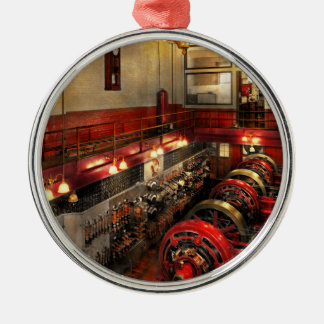 Steampunk - The Engine Room 1974 Metal Ornament