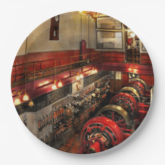 Steampunk - The Engine Room 1974 Paper Plate