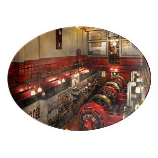Steampunk - The Engine Room 1974 Porcelain Serving Platter