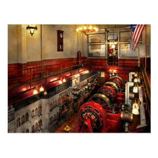 Steampunk - The Engine Room 1974 Postcard