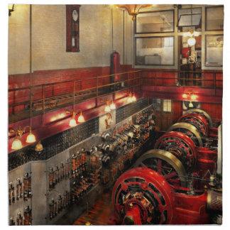 Steampunk - The Engine Room 1974 Printed Napkin