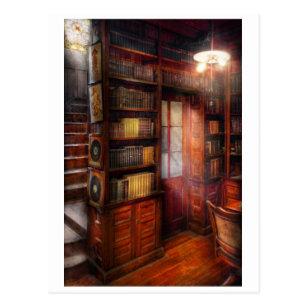 Steampunk - The semi-private study Postcard
