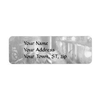 Steampunk - The steam tunnel Return Address Label