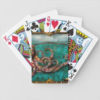 Steampunk - The tale of the Kraken Poker Deck