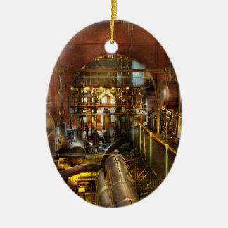 Steampunk - Think Tanks Ceramic Ornament