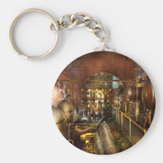 Steampunk - Think Tanks Keychain