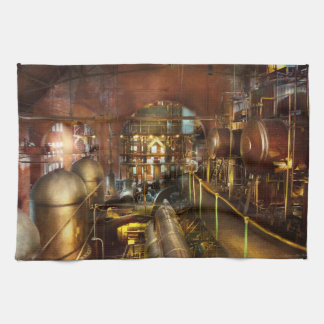 Steampunk - Think Tanks Kitchen Towel