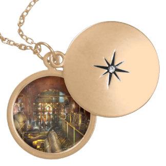 Steampunk - Think Tanks Locket Necklace
