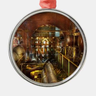 Steampunk - Think Tanks Metal Ornament