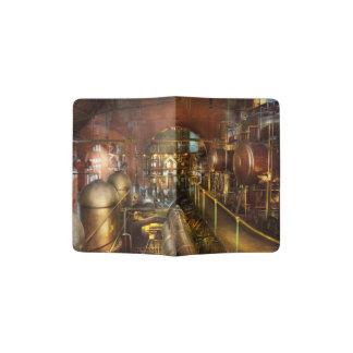 Steampunk - Think Tanks Passport Holder