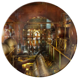 Steampunk - Think Tanks Plate
