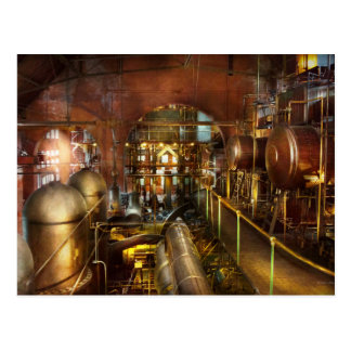 Steampunk - Think Tanks Postcard