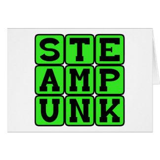 Steampunk, Throwback Lifestyle Card