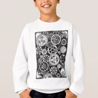 steampunk time and direction sweatshirt