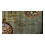 Steampunk Time Machine Business Profile Cards Business Cards