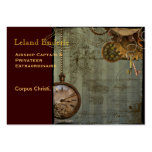 Steampunk Time Machine Business Profile Cards Large Business Cards (Pack Of 100)