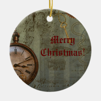 Steampunk Time Machine Christmas Ornament
