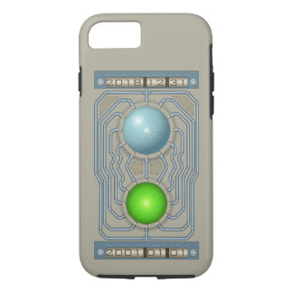 Steampunk time machine iPhone 8/7 case