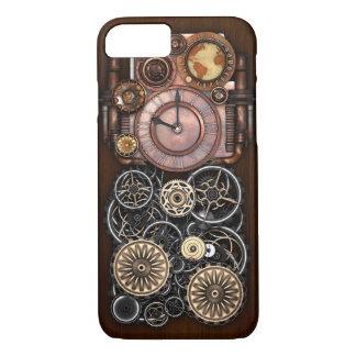 Steampunk Timepiece Redux iPhone 8/7 Case