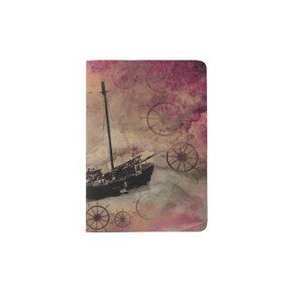 Steampunk Traveller Bon Voyage Gift Passport case Passport Holder