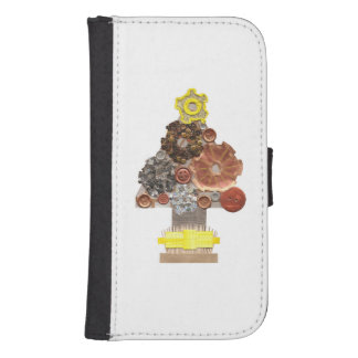 Steampunk Tree Samsung Galaxy S4 Wallet Case